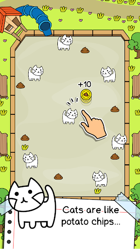 Cat Evolution - Cute Kitty Collecting Game screenshots 1