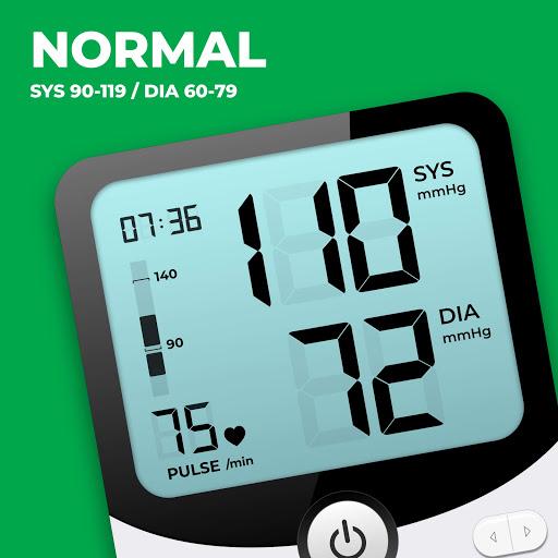 Blood Pressure Monitor - Blood Pressure App apktram screenshots 1