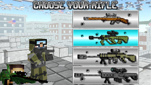 American Block Sniper Survival 1.90 screenshots 1