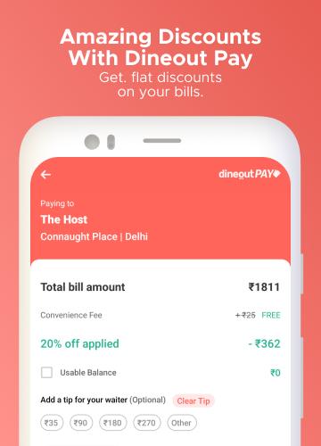 Dineout:Find Restaurants, Deals & Assured Cashback 9.9.8 Screenshots 6