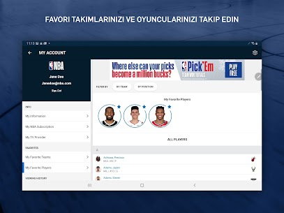 NBA Canlı Maç ve Skorlar Apk Güncel 2021* 15