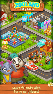 Farm Zoo: Happy Day in Animal Village and Pet City 1.40 Screenshots 1