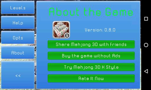 Mahjong 3D Cube Solitaire 1.0.5 screenshots 6