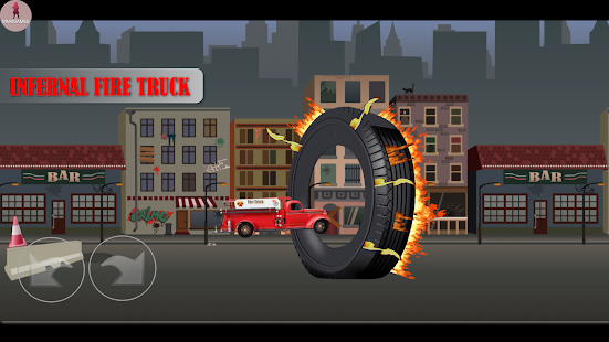 Infernal fire truck Screenshot