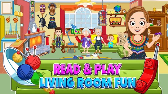 My Town : Grandparents Free For Android (MOD, Unlimited Money) 10