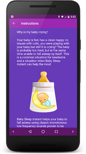 Baby Sleep ud83cudf7c White noise lullabies for newborns 3.5 Screenshots 5