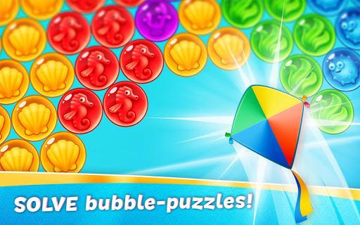 bubble quest of vikings - pop bubble shooter screenshot 3