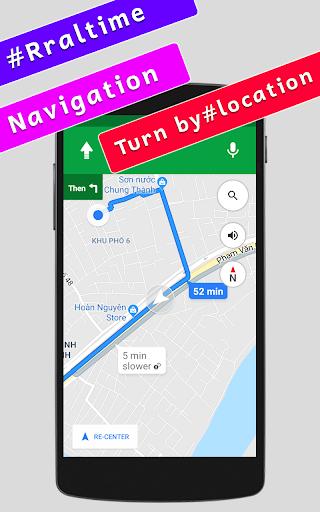 gps navigation maps & voice direction route finder screenshot 3