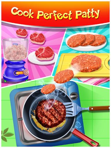 Happy Kids Meal Maker - Burger Cooking Game 1.2.9 screenshots 5