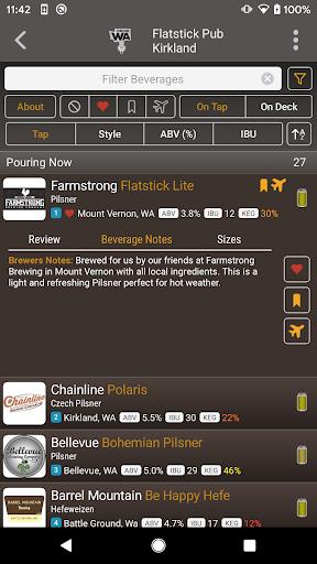 DigitalPour: Pocket Beer Menu 3.2 Screenshots 3