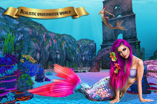 Mermaid Adventure Simulator: Beach & Sea Survival 0.1 screenshots 1