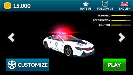 American i8 Police Car Game 3D 1.1 screenshots 8