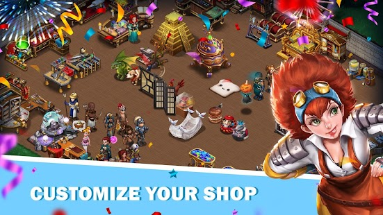 Shop Heroes: Trade Tycoon Screenshot