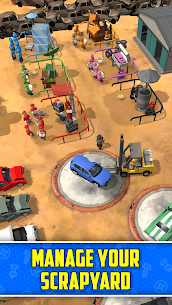 Scrapyard Tycoon Idle Game MOD APK Free Download [Unlimited Money] 1