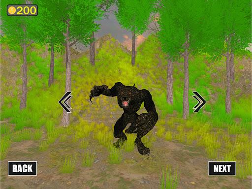 jungle werewolf monster rpg -bigfoot forest hunter screenshots 10