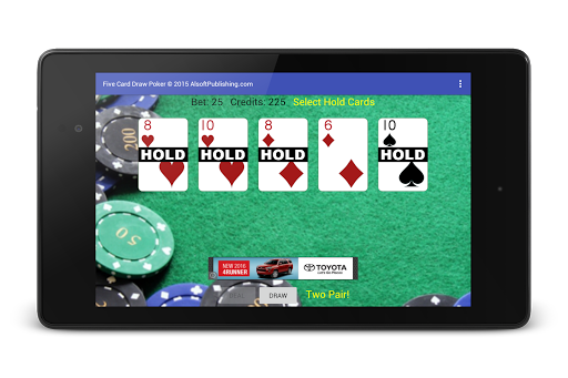 Five Card Draw Poker 1.20 screenshots 19