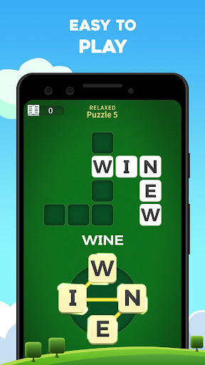 Word Wiz - Connect Words Game apktreat screenshots 1