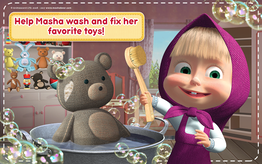 Masha and the Bear: House Cleaning Games for Girls 2.0.0 screenshots 22