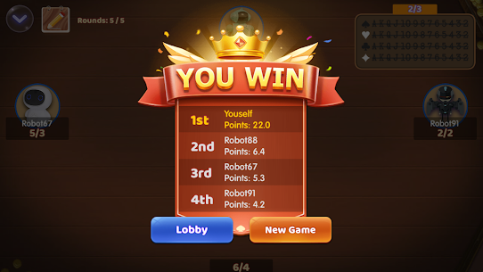 Callbreak : Offline Card Game (MOD, Unlimited Money) For Android 4