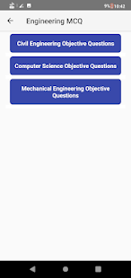 Mechanical Engineering Objective Questions MCQ