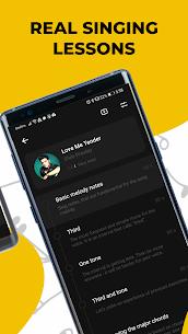 Singing app Vocaberry. Vocal training. Karaoke (MOD APK, Paid Lessons Unlocked/ AD-Free) v2.22.1GMS 3