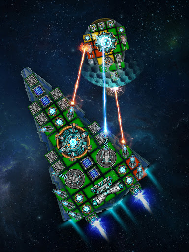 Space Arena: Build a spaceship & fight 2.9.7 screenshots 3