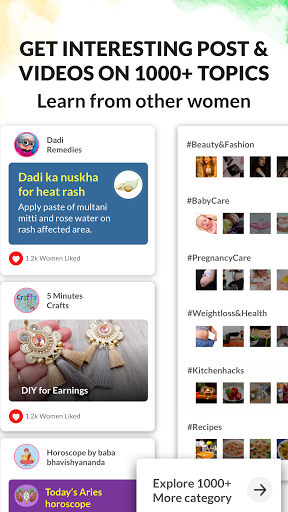 Healofy:Indian Pregnancy Parenting & Baby products 3.0.8.62 Screenshots 4