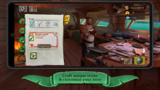 Code Triche Elly and the Ruby Atlas - Jeux de pirates gratuits (Astuce) APK MOD screenshots 3