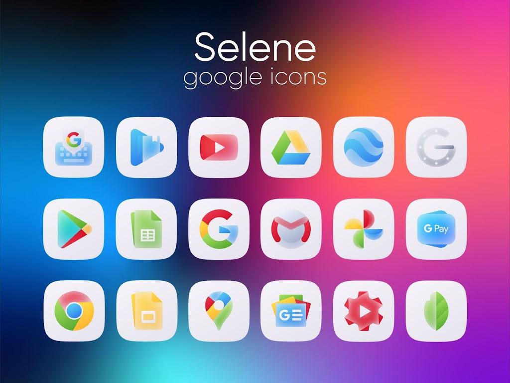 Selene Icon Pack  poster 2