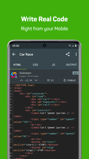 Sololearn: Learn to Code for Free android2mod screenshots 4