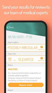 FibriCheck - Check your heart, prevent strokes 1.11.0 Screenshots 7