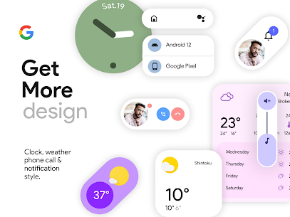 Android 12 U for kwgt APK 1.9 [Paid] Download 4