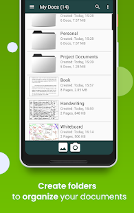 ClearScan: Document scanner app, PDF Scanning, OCR Capture d'écran