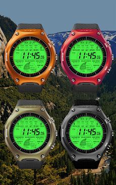 F03 WatchFace for LG G Watch Rのおすすめ画像1