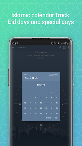 Qibla Finder, Prayer Times, Quran, Azan, Tasbeeh modavailable screenshots 6