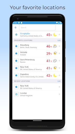 Foreca Weather 4.24.3 Screenshots 5
