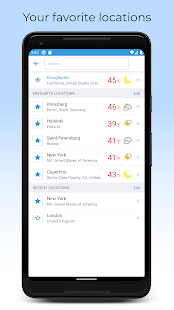 Foreca Weather 4.27.1 Screenshots 5
