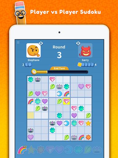 Sudoku Scramble - Head to Head Puzzle Game apkpoly screenshots 10
