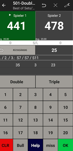Darts Scoreboard: My Dart Training apktram screenshots 18