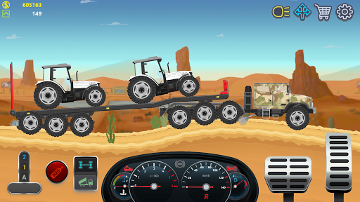 Trucker Real Wheels - Simulator apkdebit screenshots 2