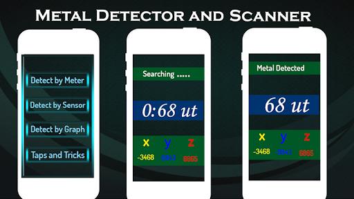 Metal Detector and EMF Scanner (Metal Detector)  screenshots 2