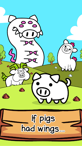Pig Evolution - Mutant Hogs and Cute Porky Game screenshots 1