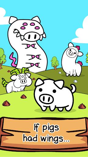 Pig Evolution - Mutant Hogs and Cute Porky Game apkmartins screenshots 1