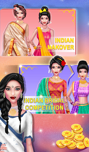 Wedding Fashion Stylist: Indian Dress up & Makeup 1.0 screenshots 15