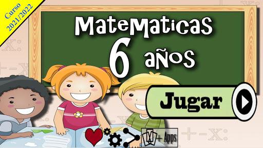 Matemáticas 6 años  screenshots 1