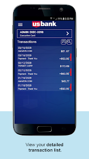 U.S. Bank Access Online Mobile Screenshot