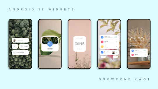 Snow Cone For KWGT Pro (MOD APK, Paid/Patched) v5.0 5