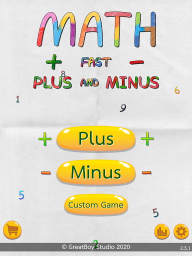 Math Fast Plus and Minus 2.3.1 screenshots 8