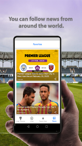Live Football Scores 2020  screenshots 4