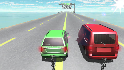 Chained Cars Against Ramp 3D - Free Racing Game 4.4.0.1 screenshots 1